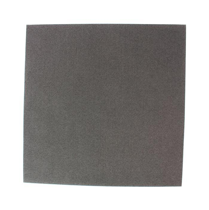 Executive Grey Ultrasuede Foundation Sheet 8.5