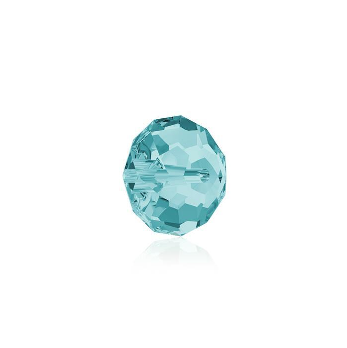Swarovski Crystal Beads - Pack of 12 Briolette 5040 - 6mm Light Turquoise
