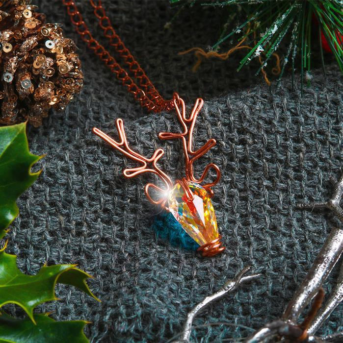 Reindeer Pendant Necklace Kit