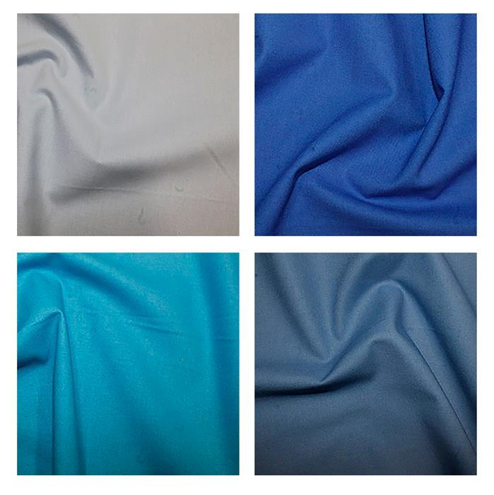 Blues Core Fabric Bundle (2m)