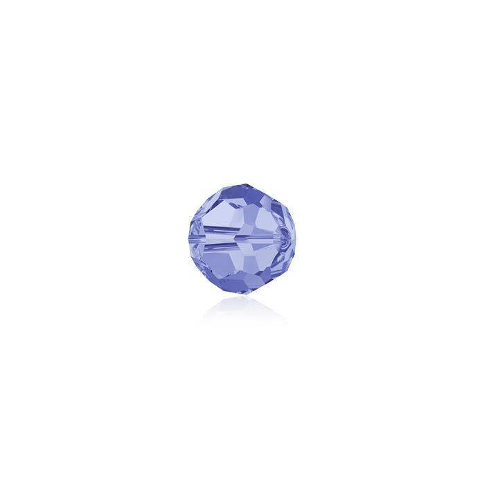Swarovski Crystal Beads - Pack of 12 Round 5000 - 4mm Light Sapphire