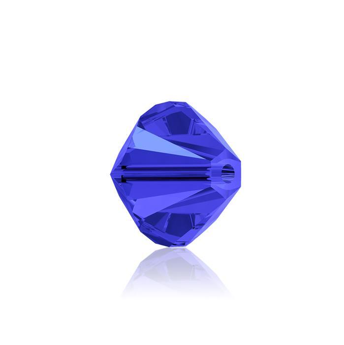 Swarovski Crystal Beads - Pack of 6 Bicones 5328 - 8mm Sapphire