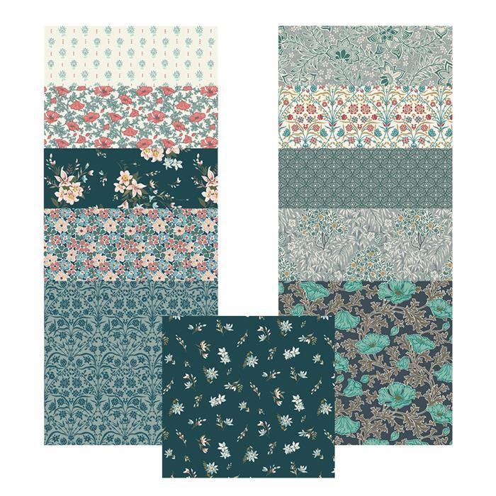 Liberty Winterbourne House Range in Teal Mega Bundle (5.5m) with 0.5m FREE