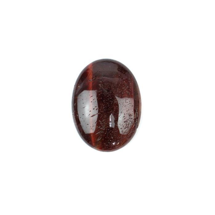 50cts Red Tigers Eye Oval Cabochon Approx 40x30mm