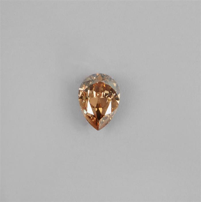 Swarovski Golden Shadow Crystal Faceted Pear 18x13 mm - 1pc.