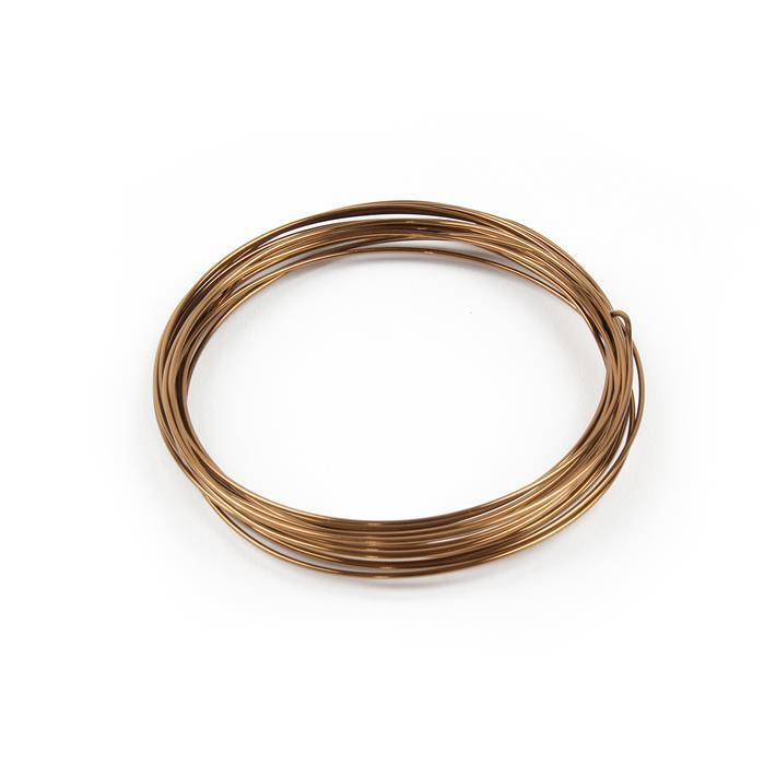Antique Bronze Copper Wire - 0.8mm (6m)