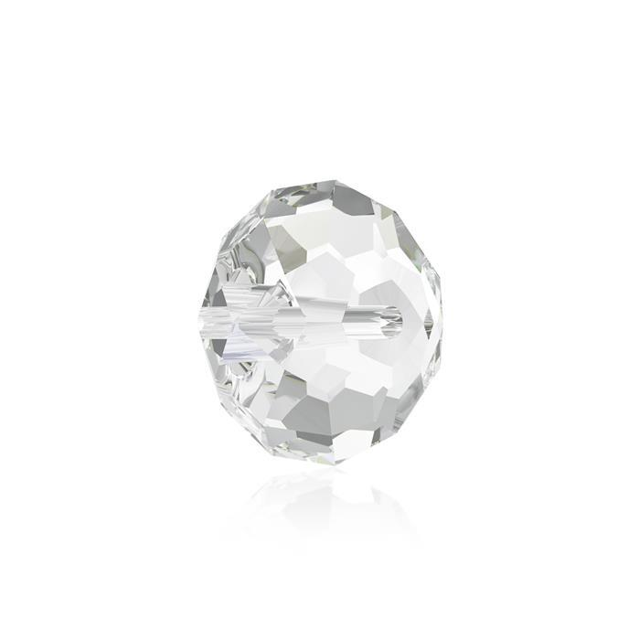 Swarovski Crystal Beads - Pack of 6 Briolette 5040 - 8mm Crystal Clear
