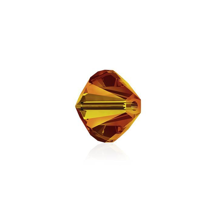 Swarovski Crystal Beads - Pack of 24 Bicone 5328 - 6mm Fireopal
