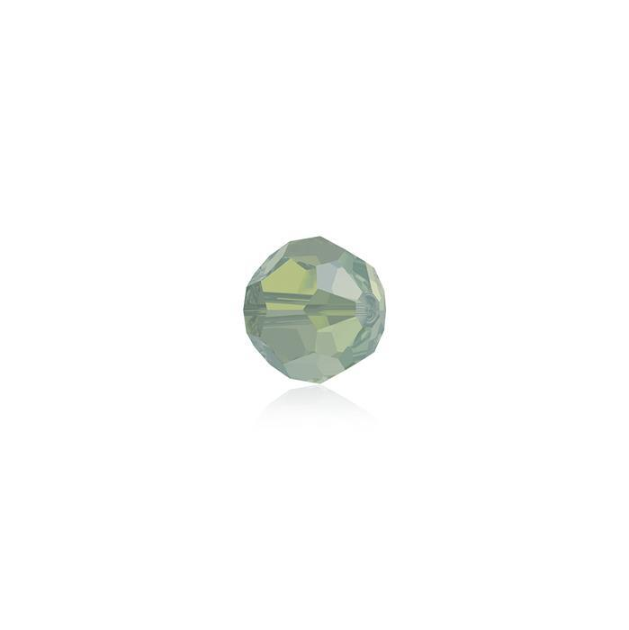 Swarovski Crystal Beads - Pack of 12 Round 5000 - 4mm Pacific Opal