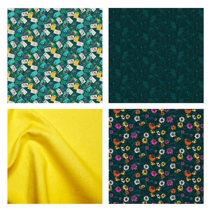 Flora Seed Packets Fabric Bundle (2m)