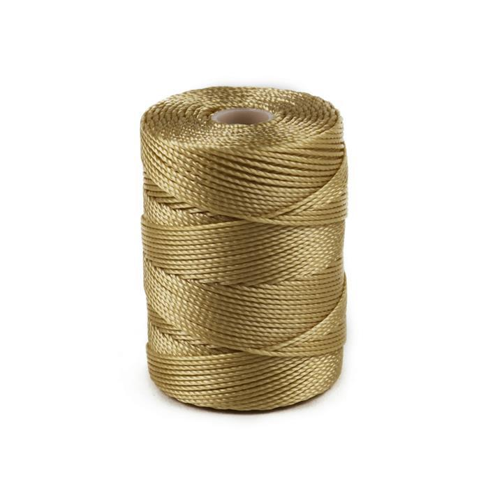 70m Sand Nylon Cord Approx 0.4mm