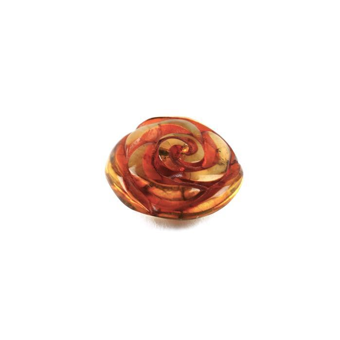 Baltic Amber Multi Colour Rose from Approx 10 to 17mm