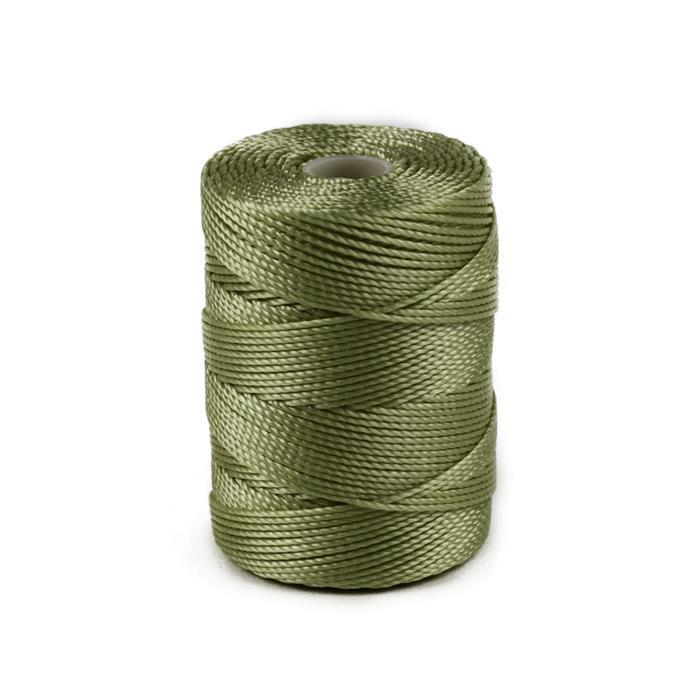 70m Olive S-Lon Cord 0.4mm