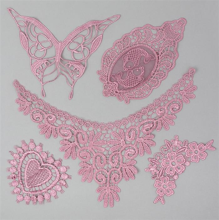 Wild Rose Pretty Lace Bundle (Set of 5)