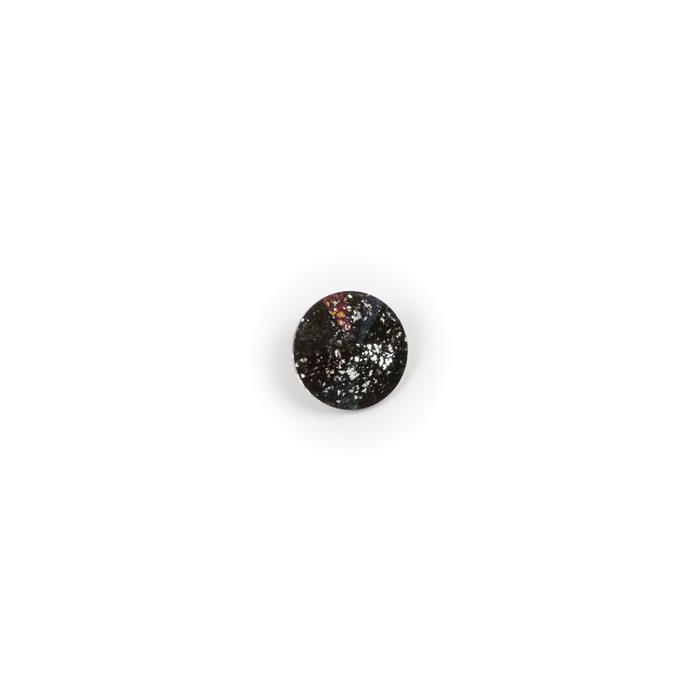 Swarovski Rivoli Stone 1122 Crystal Black Patina F 14mm 1pk