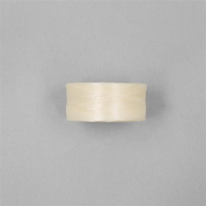 75m Cream C-Lon Cord Approx 0.1mm