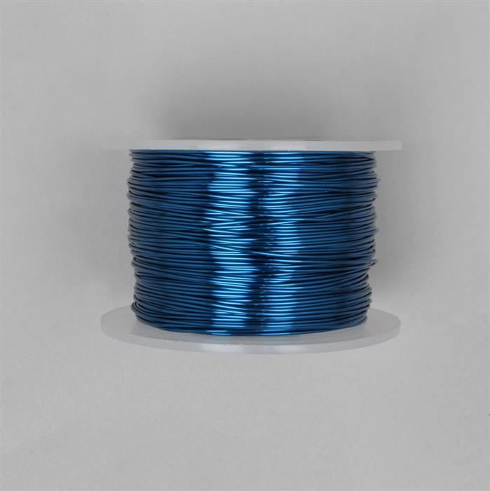 100m Blue Coloured Copper Wire 1.0mm