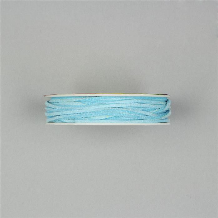 5m Baby Blue Suedette Cord 1.8mm