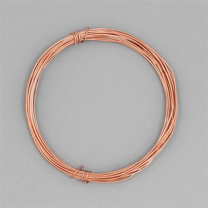 4m Raw Copper Wire - 1mm