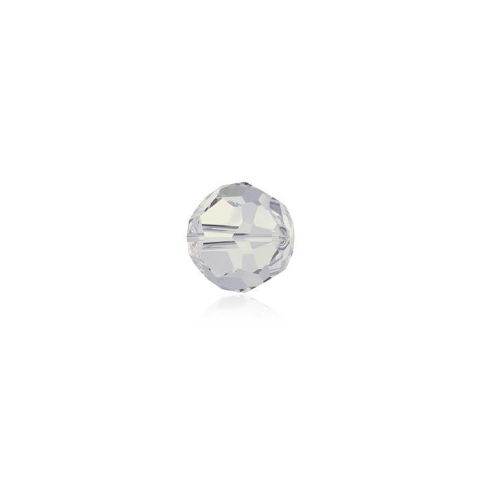 Swarovski Crystal Beads - Pack of 12 Round 5000 - 4mm White Opal