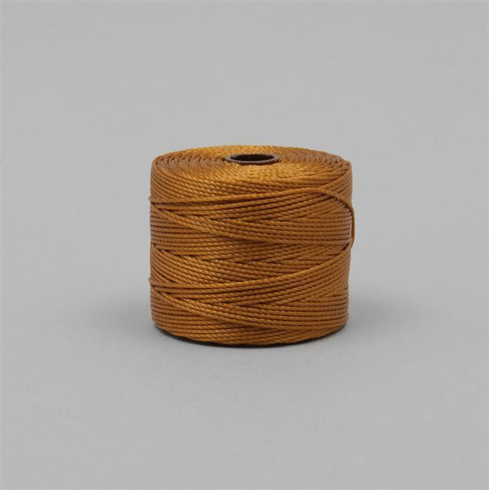 70m Gold Nylon Cord Approx 0.4mm