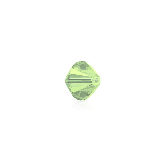 Swarovski Crystal Beads - Pack of 24 Bicone 5328 - 4mm Chrysolite Opal