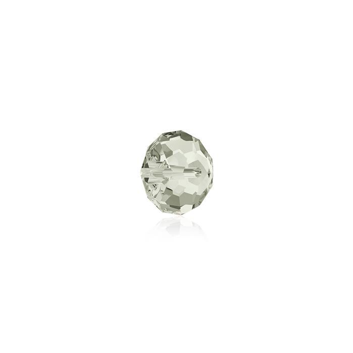 Swarovski Crystal Beads - Pack of 12 Briolette 5040 - 4mm Crystal Silver Shade