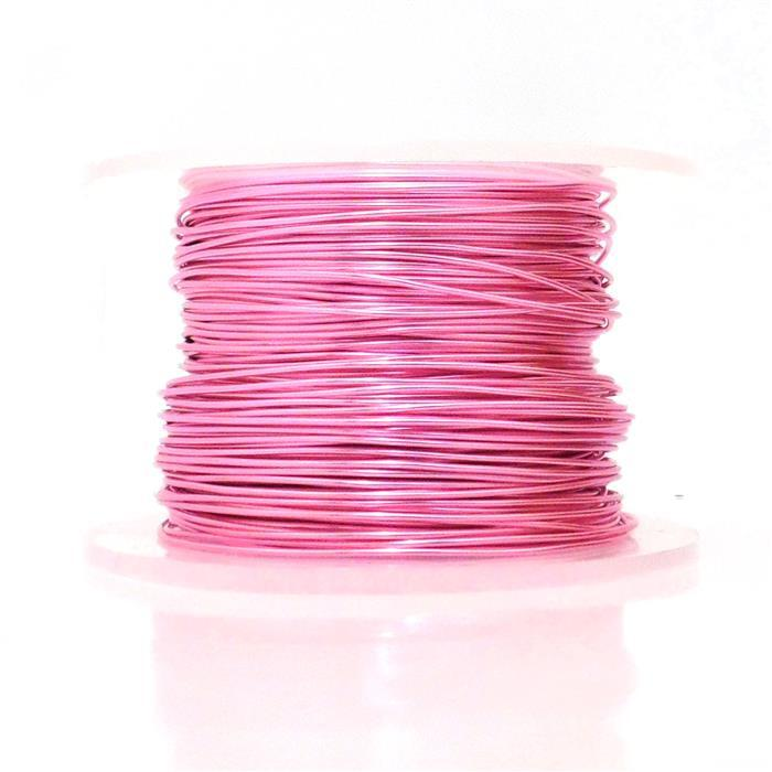 50m Pink Coloured Copper Wire 1mm