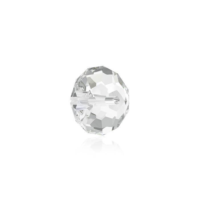 Swarovski Crystal Beads - Pack of 12 Briolette 5040 - 6mm Crystal Clear