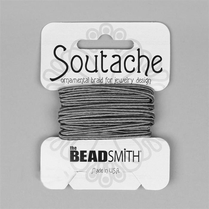 Smog Soutache Cord 3 yards 3mm