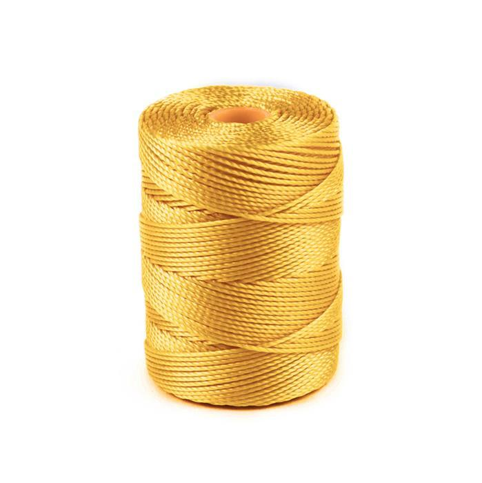 70m Golden Yellow Nylon Cord 0.4mm