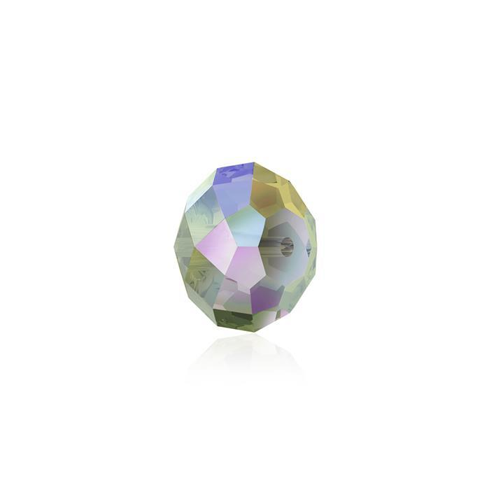 Swarovski Crystal Beads - Pack of 12 Briolette 5040 - 6mm Crystal Paradise Shine