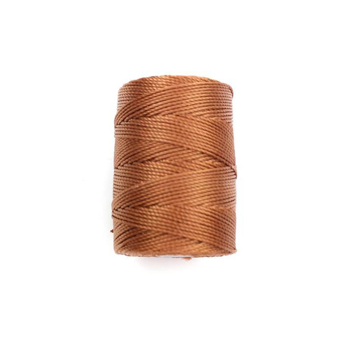 70m Nutmeg Nylon Cord Approx 0.4mm