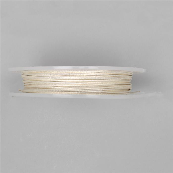 10m Silver Plated Patterned Wire 1.00mm