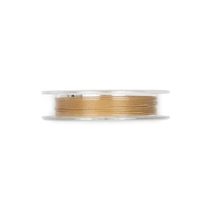 Flex-rite 49 Gold Plated Wire Apprx 0.60mm 10ft