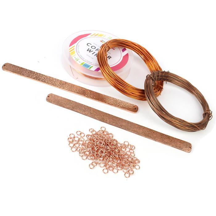 Bare Copper Collection! Inc; Jump Rings, Wire, Bangle