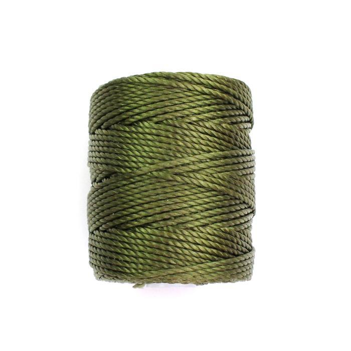 32m Green Oliver S-Lon Cord Approx 0.9mm
