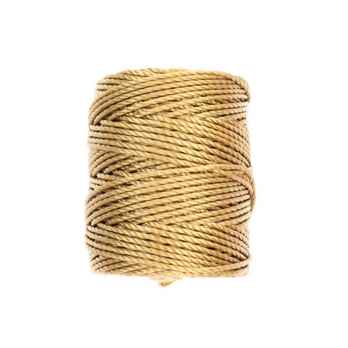 32m Dark Tan Nylon Cord Approx 0.9mm