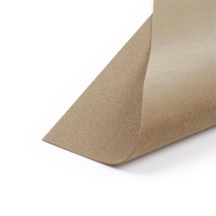 Coffee Cream Ultrasuede Foundation Sheet 8.5