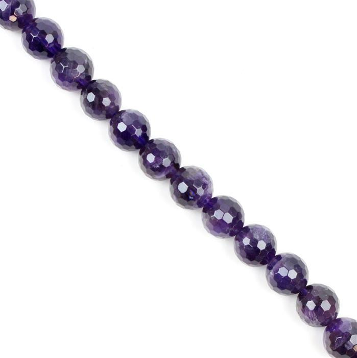 380cts Amethyst Faceted Rounds Approx 12mm, 38cm