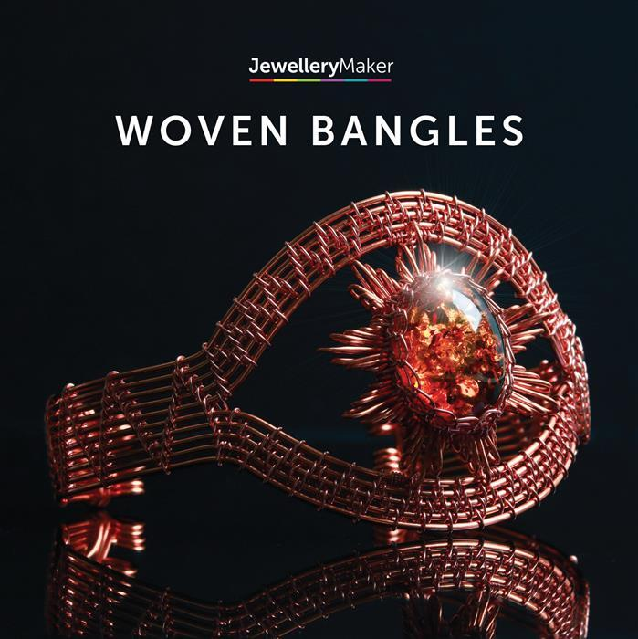 Limited Edition Woven Bangles With Claire McDonald (PAL)