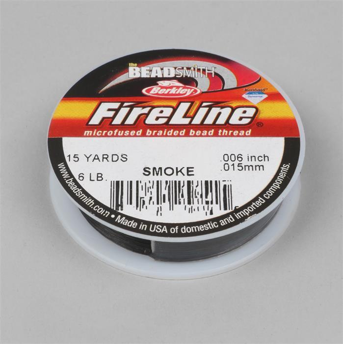 6lb Fireline Smoke Grey 0.006in/0.15mm Diameter 15 yds
