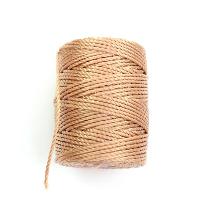 32m Ginger Nylon Cord Approx 0.9mm