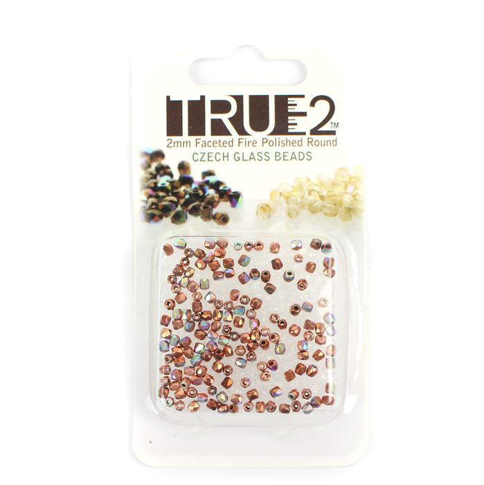 True 2 Fire Copper Plated AB 2mm (2GM/CD)