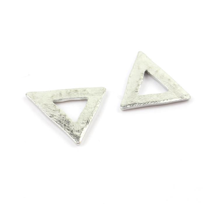 Impress Art Pewter Triangle Stamping Blanks, Small (2pk)