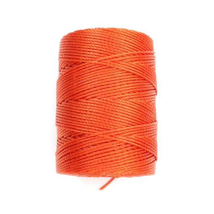70m Orange Nylon Cord Approx 0.4mm
