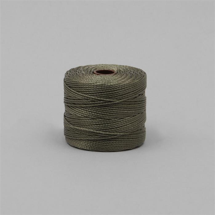 70m Olive Nylon Cord Approx 0.4mm