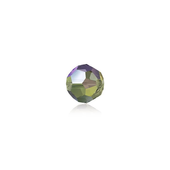 Swarovski Crystal Beads - Pack of 12 Round 5000 - 4mm Crystal Paradise Shine