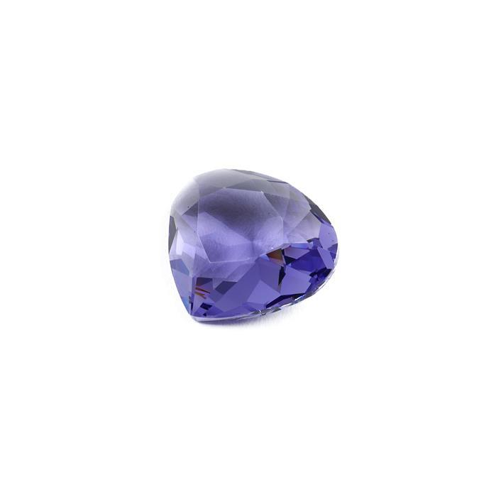 Swarovski Wide Pear Fancy Stone 4370 Tanzanite F 20x18mm 1pk
