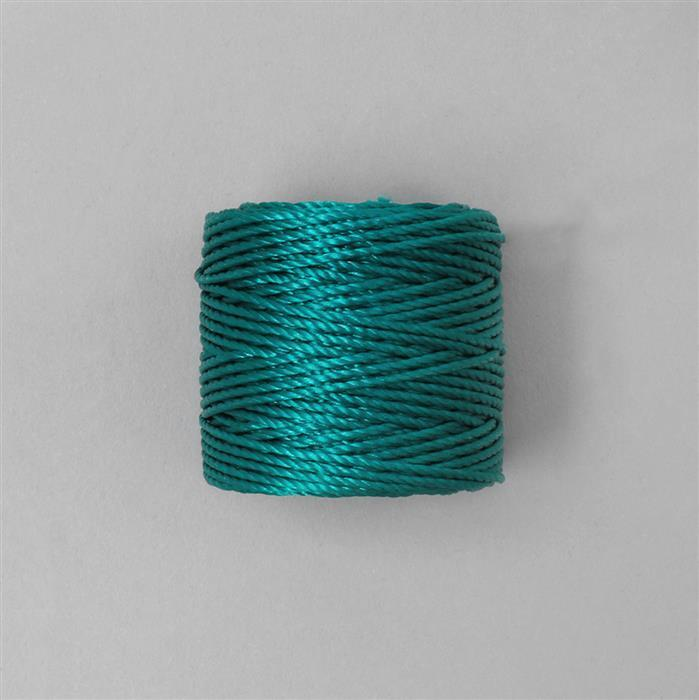32m Teal S-Lon Cord Approx 0.9mm